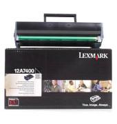 Toner 12A7400 Rückgabekassette schwarz ca 3000 Seiten