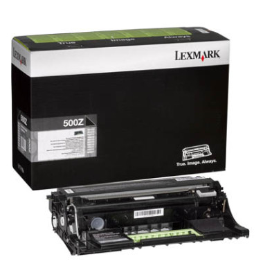 Trommel 500Z für Lexmark schwarz ca.60.000 Seiten
