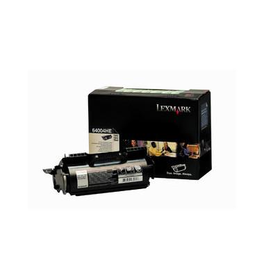 Toner 64004HE Rückgabekassette schwarz ca 21000 Seiten