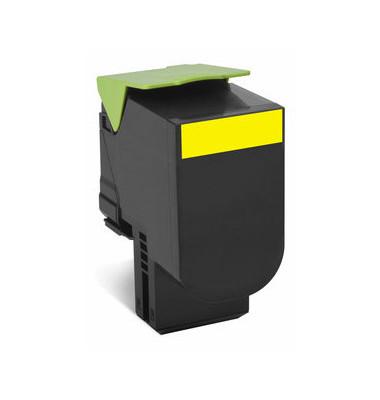 Toner f.CX310/CX410 gelb ca.1.000 S Rückgabe