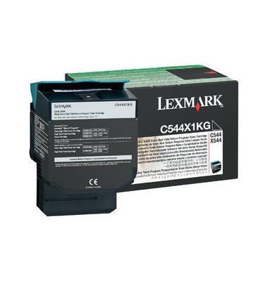 Toner C544X1KG schwarz ca 6000 Seiten