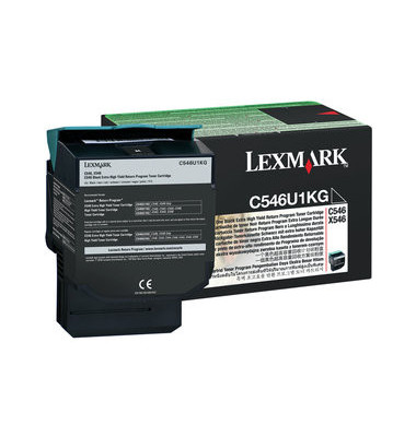 Toner C546U1KG Rückgabekassette schwarz ca 8000 Seiten