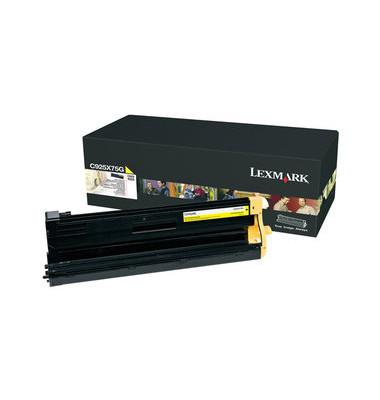 Trommel C925X75G, original, gelb, 30000 Seiten