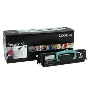 Toner X203A11G Rückgabekassette schwarz ca 2500 Seiten