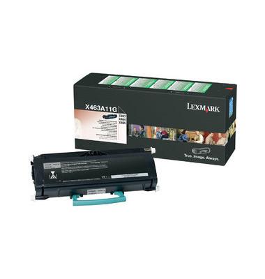 Toner X463A11G Rückgabekassette schwarz ca 3500 Seiten