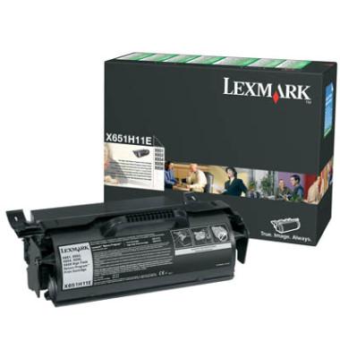 Toner 0X651H11E Rückgabekassette schwarz ca 25000 Seiten