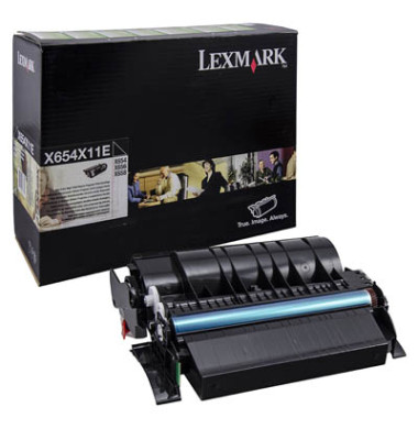 Toner 0X654X11E Rückgabekassette schwarz ca 36000 Seiten