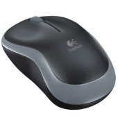 PC-Maus M185 910-002238, 3 Tasten, kabellos, USB-Funk, optisch, anthrazit