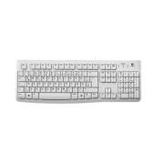 Tastatur Keyboard K120 USB Kabel weiß