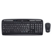 Maus-Tastatur-Set Wireless Desktop MK330 USB Funk schwarz
