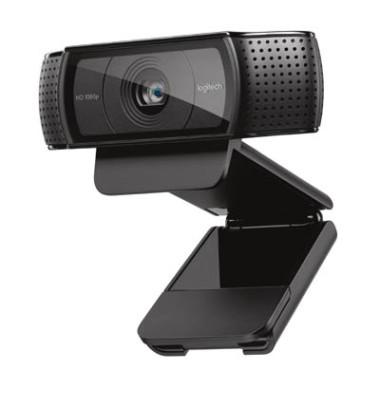 Webcam HD Pro C920 for Business,USB 2.0 schwarz