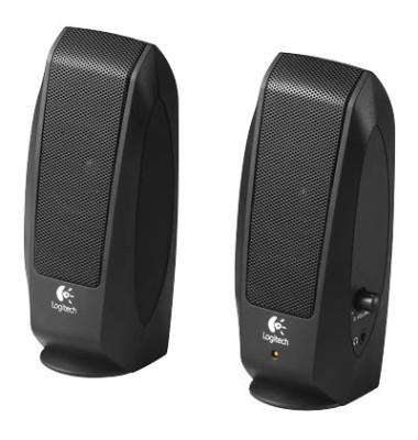 Lautsprecher S120,2 x 4,4 Watt schwarz