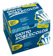 Tafelkreide Robercolor weiß rund 10x80mm 100 Stück