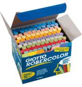 Tafelkreide Robercolor farbig sortiert rund 10x80mm 10x 10 Stück