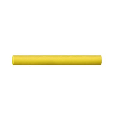 Tafelkreide Robercolor gelb rund 10x80mm 100 Stück
