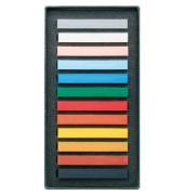 Pastellkreide POLYCRAYONS soft sortiert 12er-Karton