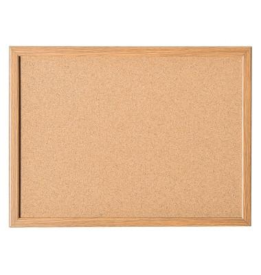 Pinnwand mit Holzrahmen 800x600mm