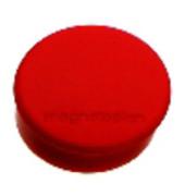 Magnete discofix hobby bis 0,3kg rund rot 10 Stück