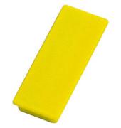 Magnete bis 1,3kg rechteckig gelb 10 Stück