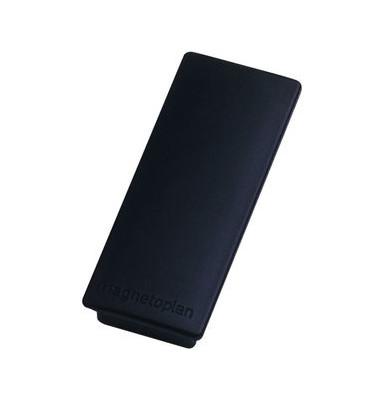 Magnete bis 1,3kg rechteckig schwarz 10 Stück