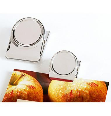 Magnetclip silber 50mm