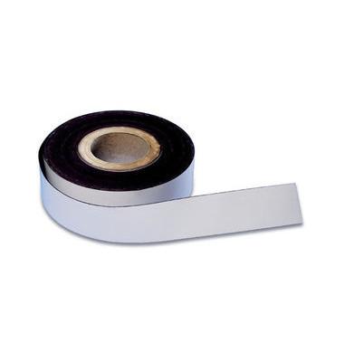 Magnetband 50mm x 30m weiß selbstklebend