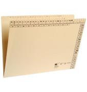 Einstellmappe A4 230g Karton chamois für 150 Blatt