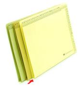 Einstellmappe mit Falte A4 230g Karton chamois für 250 Blatt
