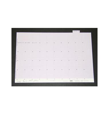 Selbstklebereiter numerisch hellviolett 30mm breit 100 St