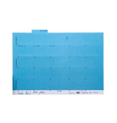 Selbstklebereiter blau 55mm breit 100 Stück