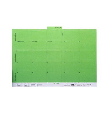 Selbstklebereiter grün 55mm breit 100 Stück
