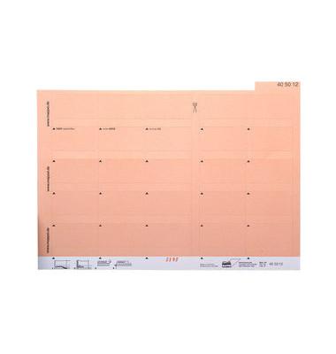 Selbstklebereiter h.orange 55mm breit 100 Stück