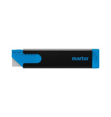 Cutter Handy für Rechts- und Linkshänder schwarz/blau 18,4mm Klinge 445