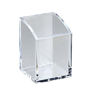 Köcher Acryl glasklar