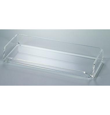 Federschale Acryl glasklar 220x30x95mm