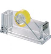 Klebebandabroller Mod. Weiss glasklar 61x80x150mm o. Band