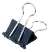 Foldbackklammern mauly Breite 25mm schwarz
