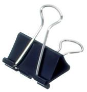 Foldbackklammern mauly Breite 32mm schwarz