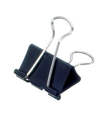 Foldbackklammer mauly 214 32 90, 32mm, Metall schwarz, 1 Stück