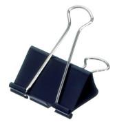 Foldbackklammern mauly 214 51 90, 51mm, Metall schwarz, 12 Stück