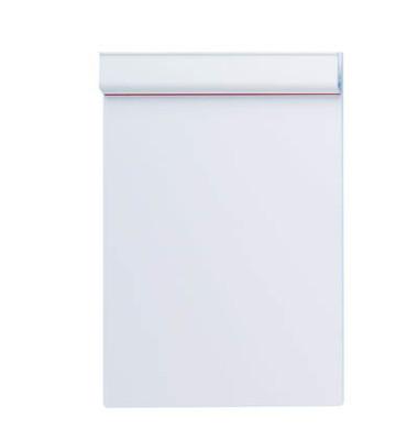 Klemmbrett Serie 231 A4 Klemme kurze Seite weiß Kunststoff