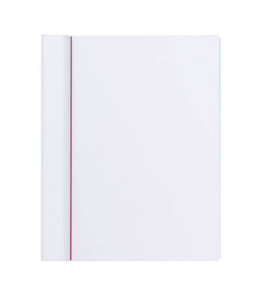 Klemmbrett Serie 231 A4 Klemme lange Seite weiß Kunststoff