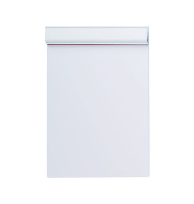 Klemmbrett Serie 231 A5 Klemme kurze Seite weiß Kunststoff