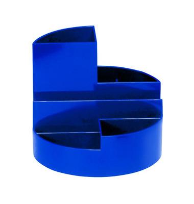 Schreibgeraetekoecher blau 4 Faecher