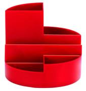 Schreibgeraetekoecher rot 4 Faecher