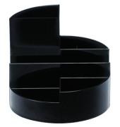 Schreibgeraetekoecher schwarz 4 Faecher
