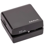 Brieföffner mit 4 Batterien elektrisch schwarz