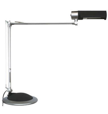 Schreibtischlampe MAULoffice mit Fuß silber