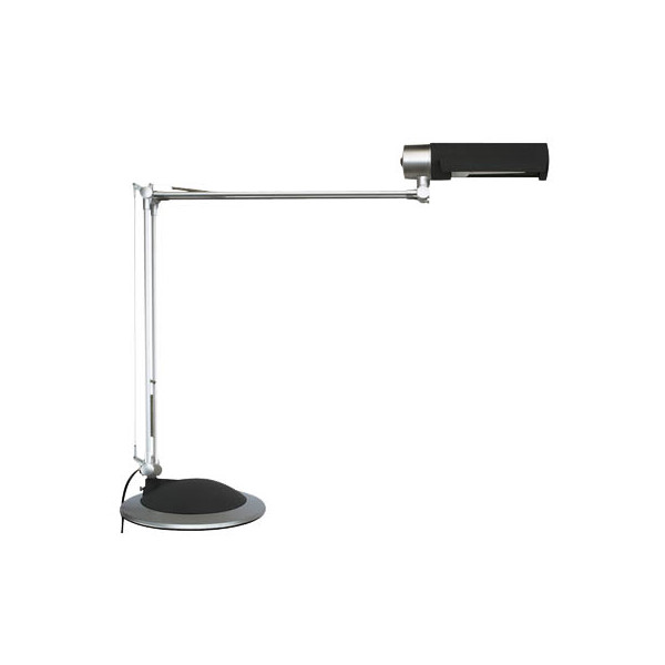 maul schreibtischlampe mauloffice mit fu silber. Black Bedroom Furniture Sets. Home Design Ideas