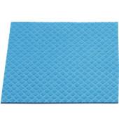 Schwammtuch für Küche/Bad feucht blau 25 x 31 cm 10 Stück